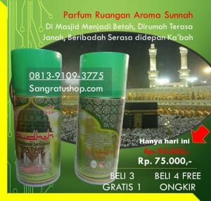 Parfum Masjid Aroma Kiswah